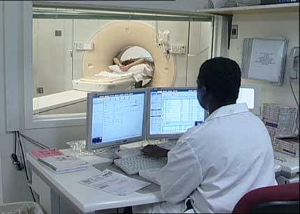 Computed Tomography (CT) procedure